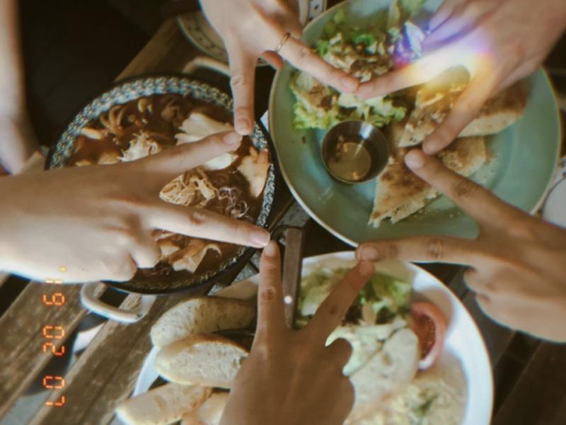 메디블록 랜덤 점심 식사 문화