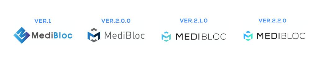 메디블록 로고 변천사 medibloc logo change history