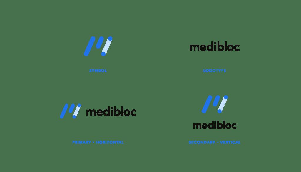 메디블록 로고 리브랜딩 medibloc logo rebranding renew